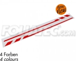 PIN-Striping Aussenspiegel - Rot